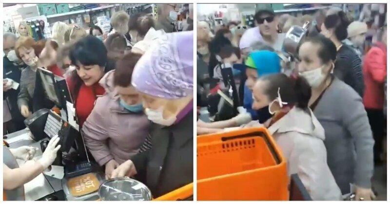 В Нижнем Тагиле люди обезумели из-за кастрюль по 99 рублей