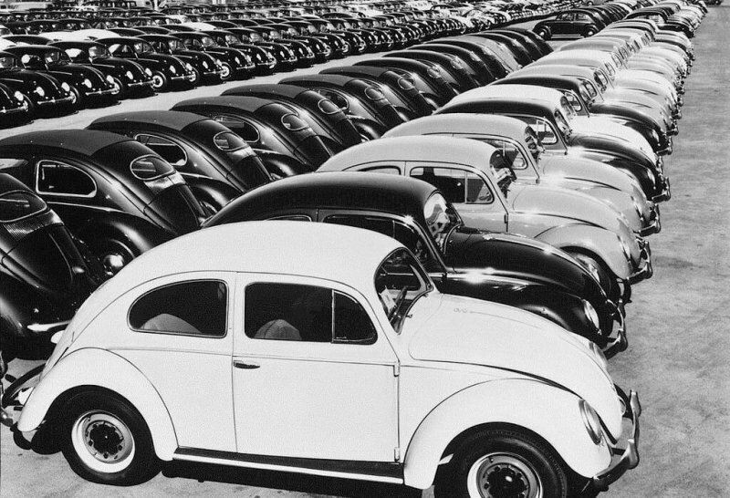 Фото-экскурсия в прошлое на завод Volkswagen