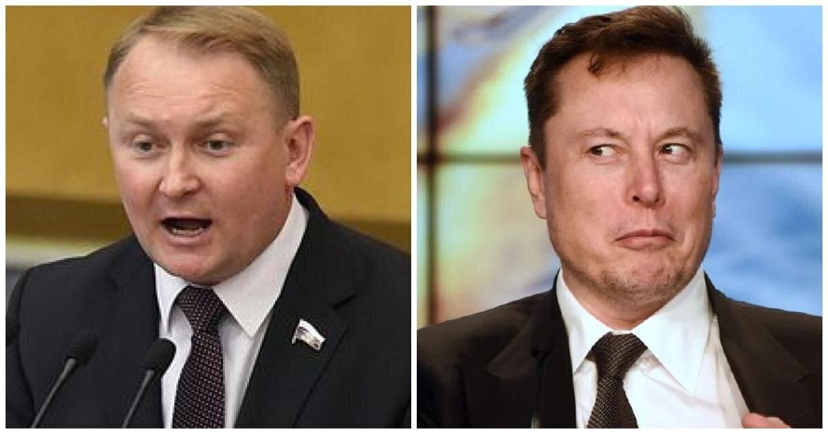 В Госдуме предположили, что ракета Илона Маска имеет российское происхождение