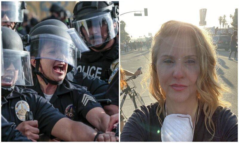 Полиция США атакует журналистов