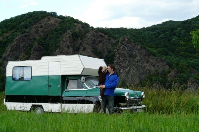 Самодельный автодом на базе «Волги» из Чехии