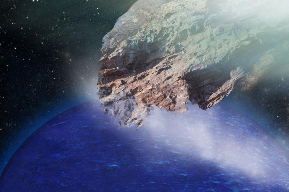 К земле приближается очередной космический скиталец: видео
