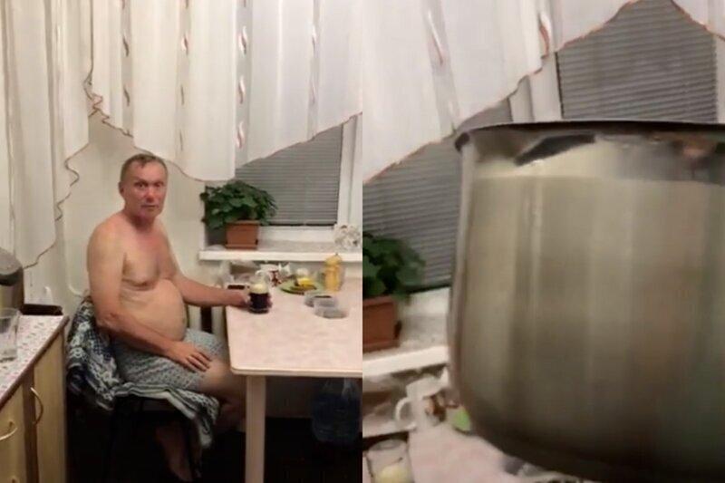 Жена ушла на маникюр и попросила мужа доварить борщ - результат оказался непредсказуемым