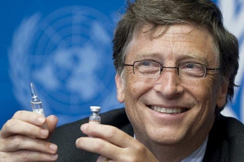 Про чипирование населения и сокращение населения через вакцинацию