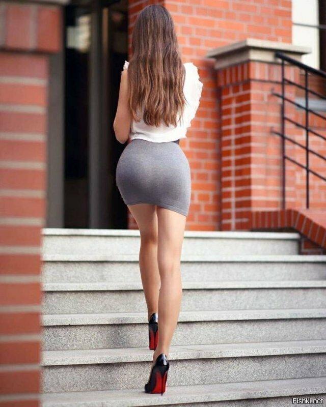 девушки на работе в юбке фото