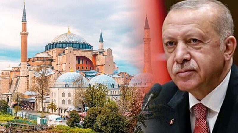Эрдоган рассматривает возможность сделать собор Святой Софии мечетью
