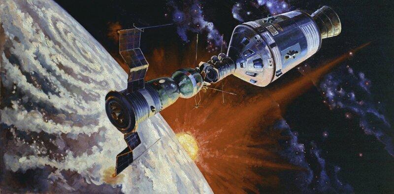 «Союз - Аполлон» Последний старт корабля «Аполлон» 1975 г. Более 45 лет у США не было своего КК