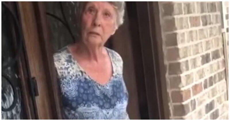 Шаловливая старушка со специфичным чувством юмора