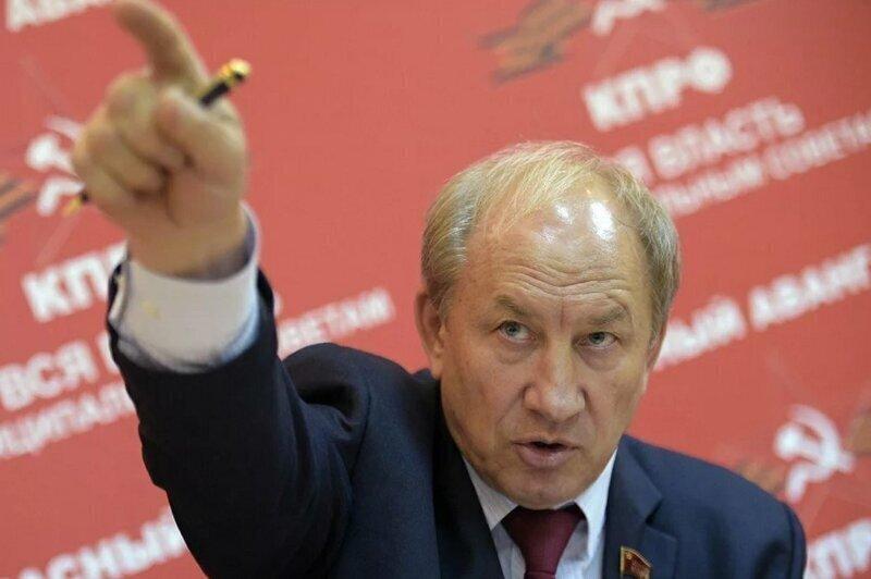Рашкин решил стать единственным и главным навальнистом в КПРФ