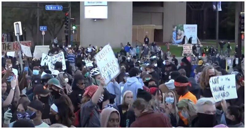 Демонстрации против расизма всё чаще оборачиваются погромами и беспорядками