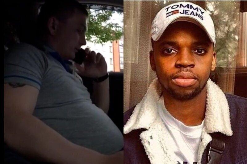 Брянский таксист отказался везти чернокожего, заявив, что он расист