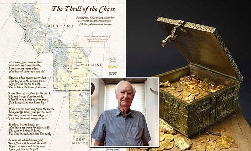 В США найден сундук с сокровищами, спрятанный ради прикола 10 лет назад