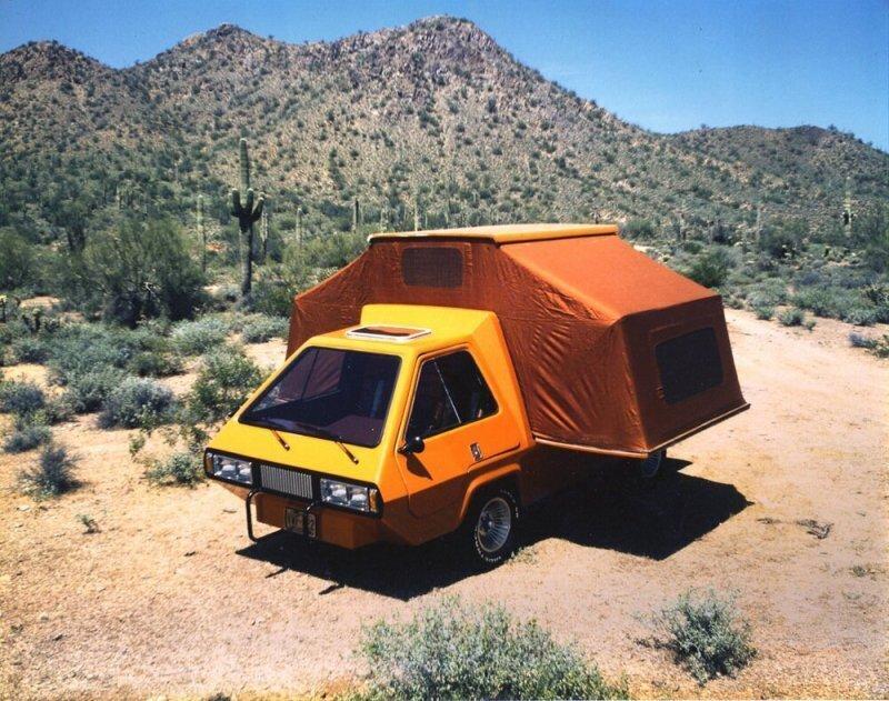 Phoenix Van — ретрофутуристический кемпер, который можно было построить самостоятельно