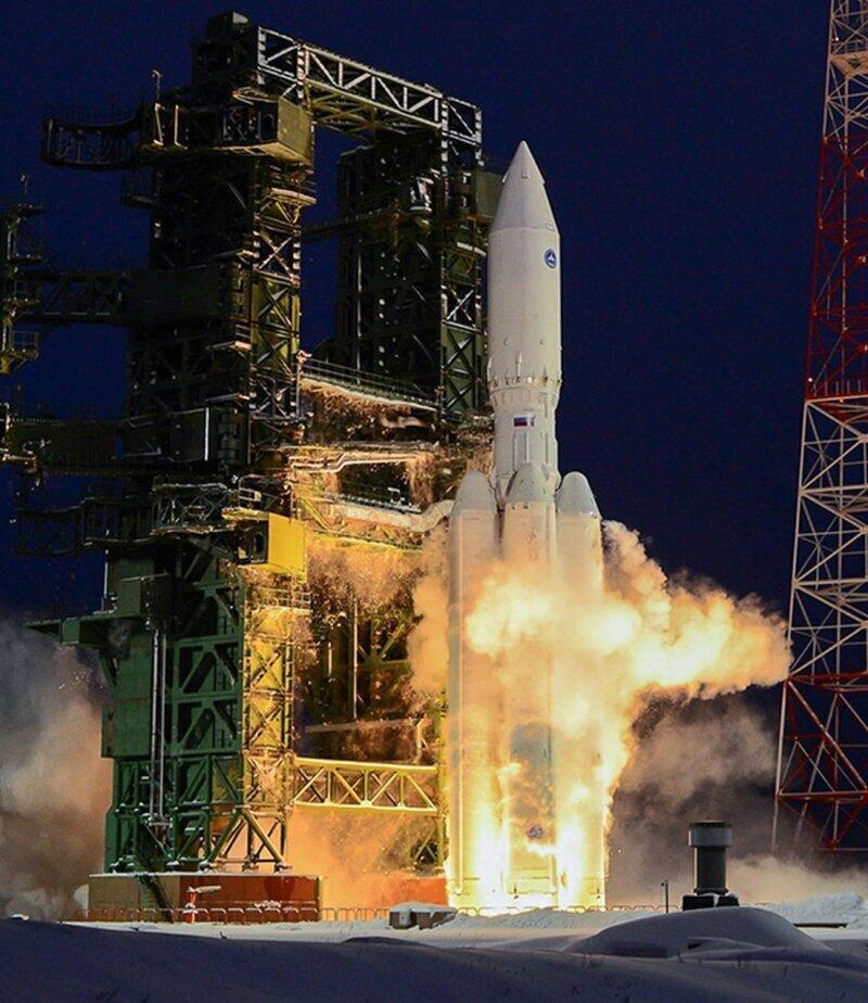Министерство обороны России заказало четыре ракеты-носителя «Ангара-А5»