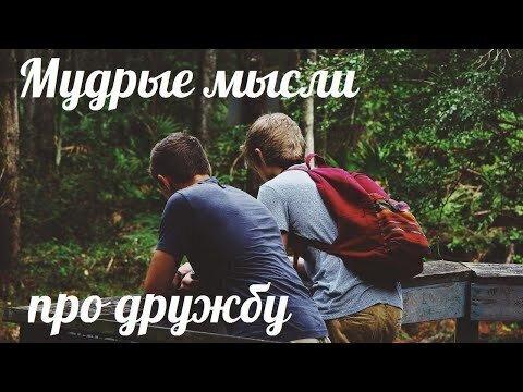 Мудрые мысли про дружбу