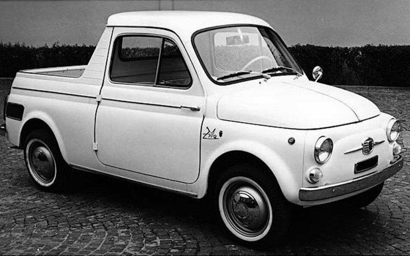 Fiat 500 Ziba  — cмешной и маленький пикап на базе малолитражки