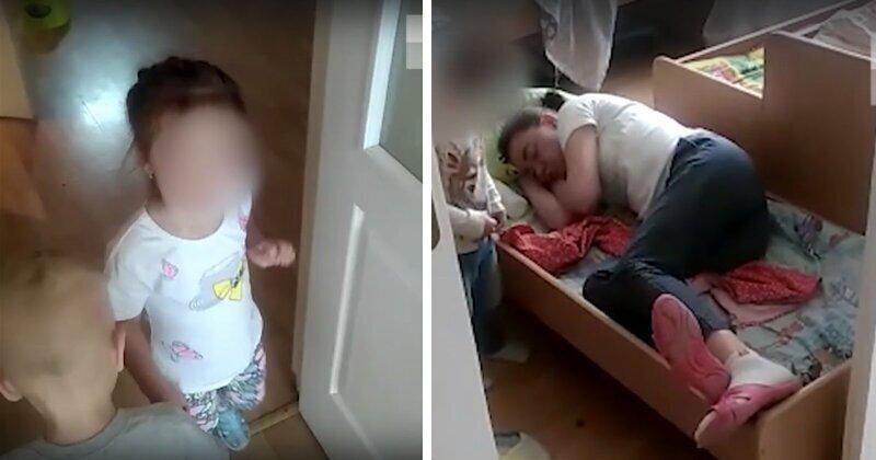 В уральском детсаду нашли пьяную воспитательницу в кроватке: видео