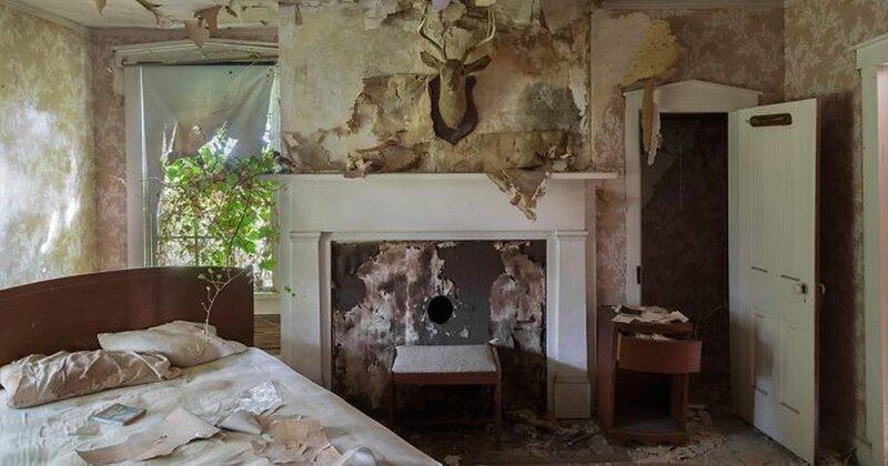Заброшенный дом полковника Конфедерации - мечта городских исследователей