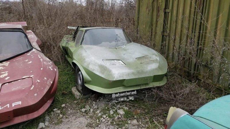 В Болгарии обнаружили заброшенные мелкосерийные спорткары из 80-х