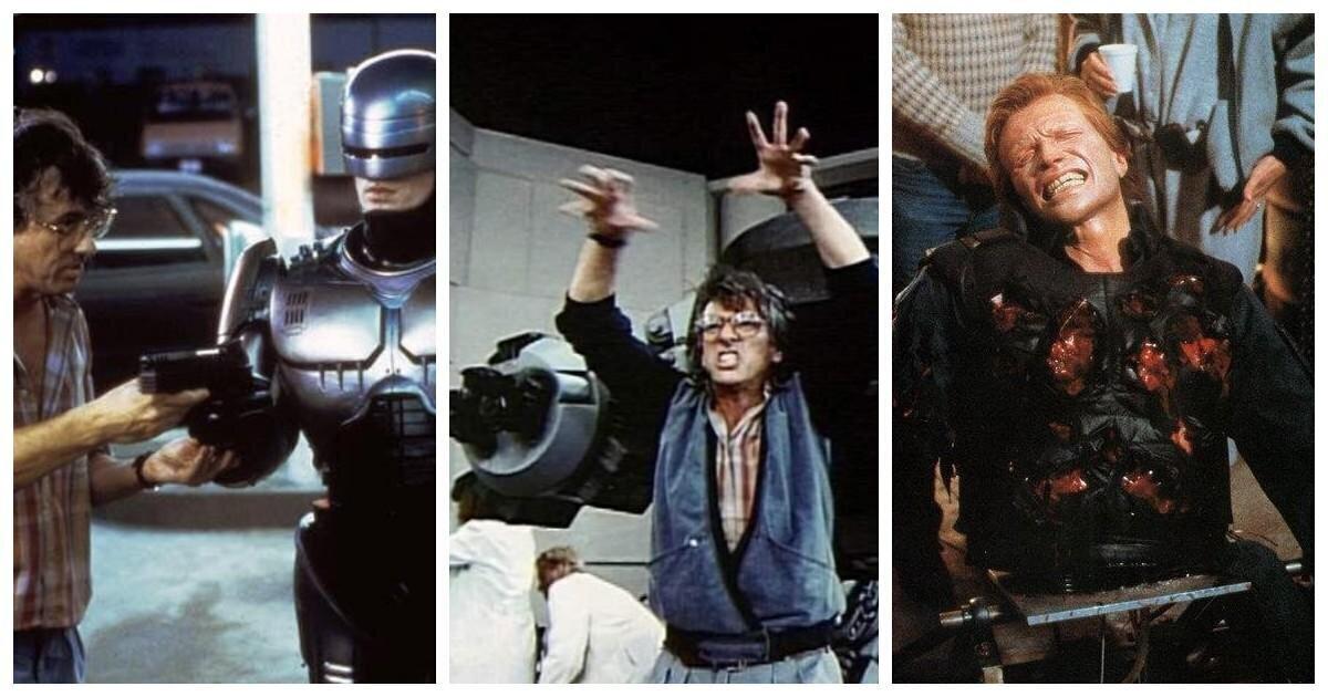 """33 года фильму """"Робокоп"""": кадры с площадки съёмок блокбастера"""