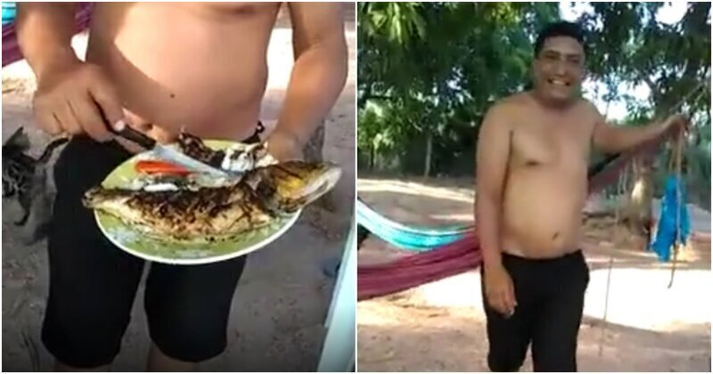 Разношерстная уличная банда лишила еды ничего не подозревающего мужчину
