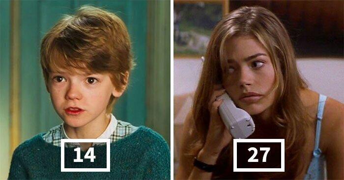 30 актеров, которые сыграли героев гораздо младше своего реального возраста