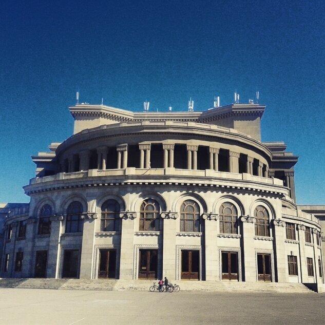 Поездка в Армению. 1985