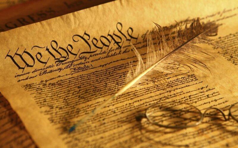 А как там в Америке. С Конституцией и с поправками