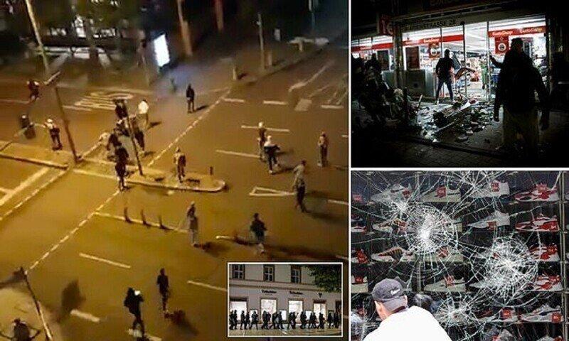 "Протестующие разгромили Штутгарт под крики ""Аллах акбар!"""