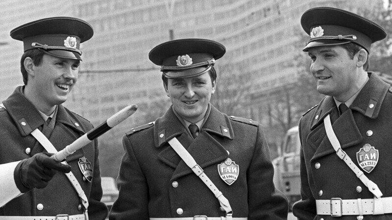 Как менялась со временем российская милиция/полиция