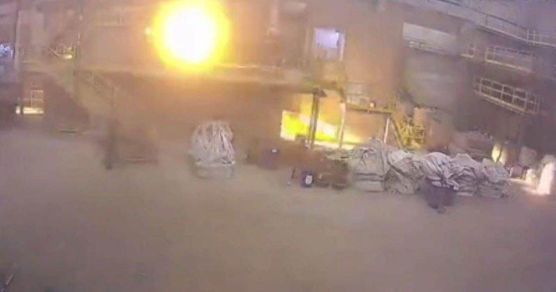 Взрыв печи на заводе тугоплавких металлов в Брянской области
