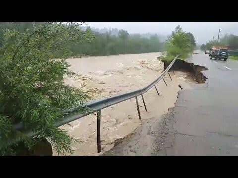 Наводнение в Западной Украине