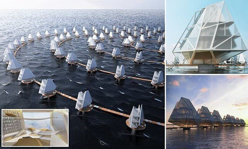 Филиппинские архитекторы предложили построить плавучие дома