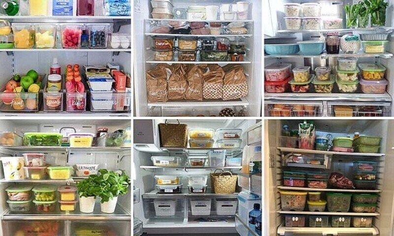 Вот так идеальные домохозяйки наводят порядок в холодильнике!