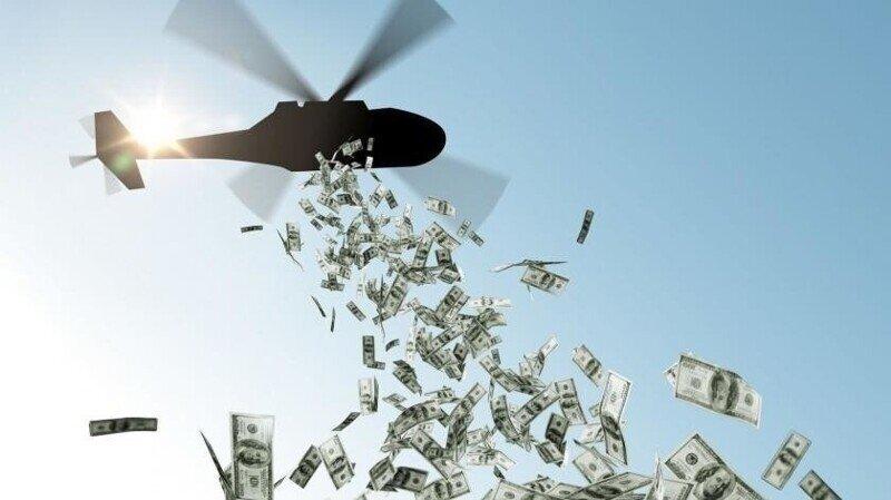 В Испании пошли в ход вертолётные деньги