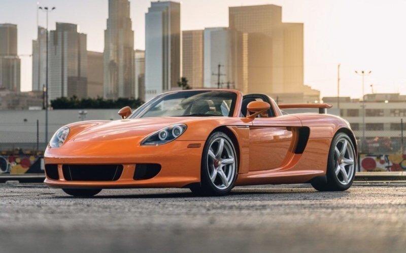 """Porsche Carrera GT — Последний суперкар с """"механикой"""""""