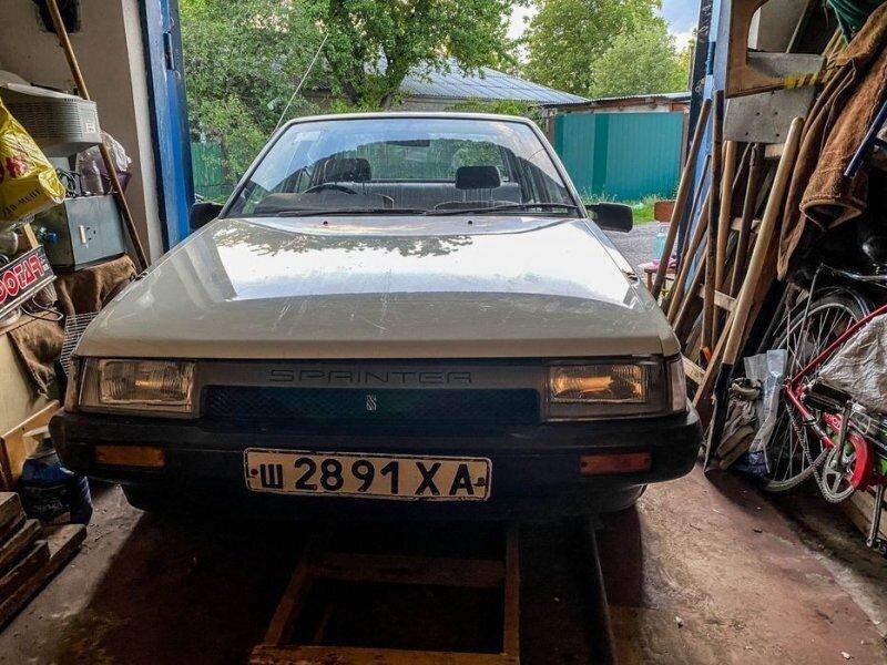 Гаражная находка: Toyota Corolla купленная в СССР