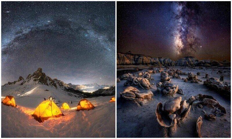 Это просто космос: снимки Млечного пути с конкурса астрофотографии