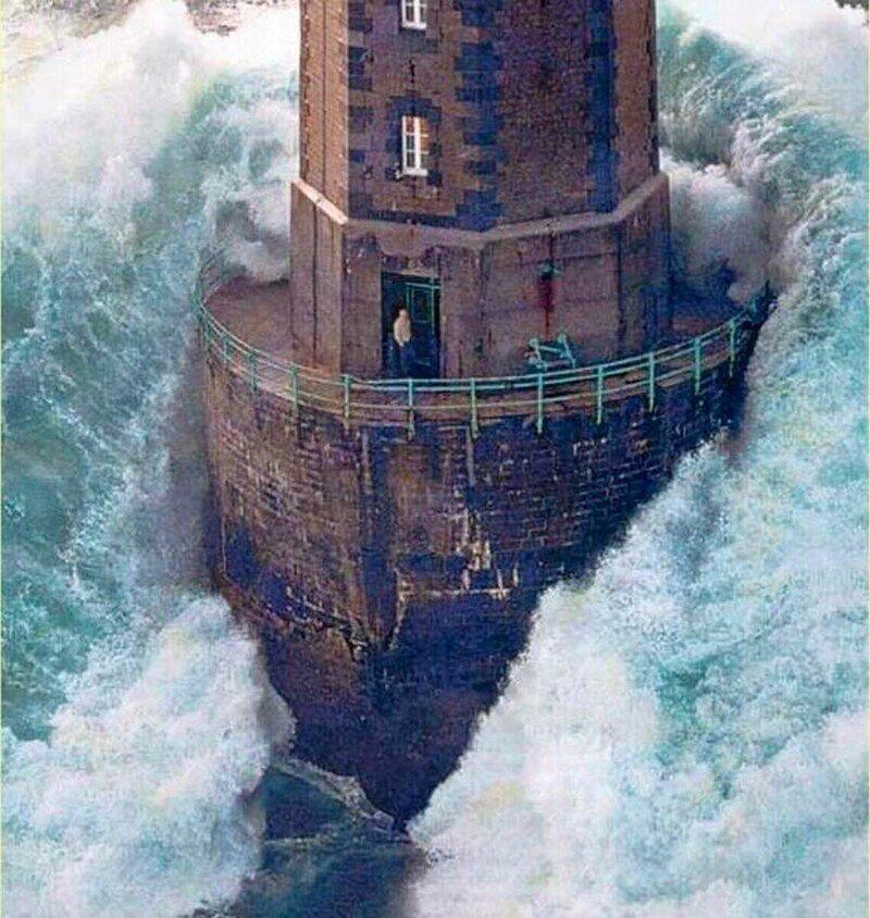 Что случилось со смотрителем маяка, которого накрыла огромная волна в 1989-м