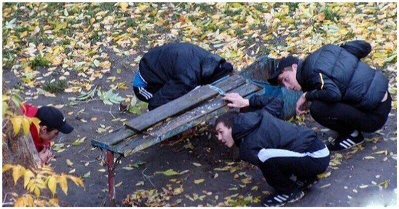 Легкий способ избавиться от искателей закладок во дворах