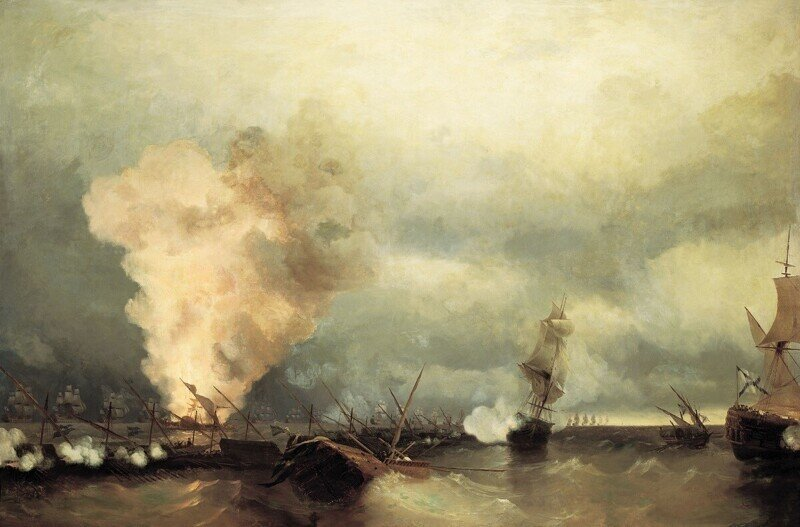 Как Россия воевала со Швецией на море. Большое, но малоизвестное Выборгское морское сражение