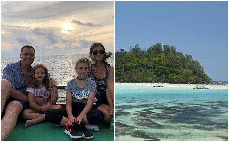 Семья продала всё и переехала на крошечный остров ради кораллов