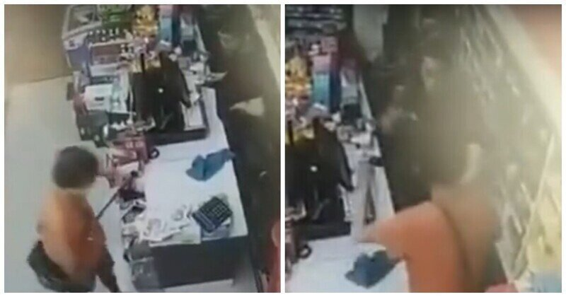 Сотрудник магазина успокоил грабителя с помощью шести бутылок с пивом