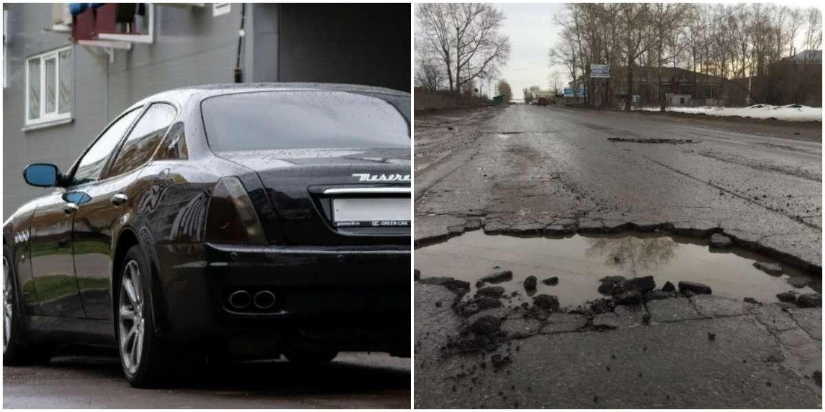 Владелец Maserati из Набережных Челнов отсудил у властей полмиллиона за ямы на дорогах