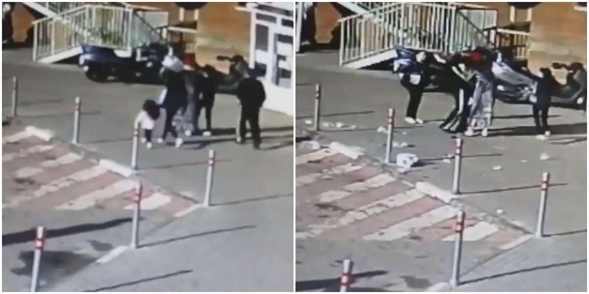 В Московской области из окна выбросили мусор на голову четырёхлетнему ребёнку
