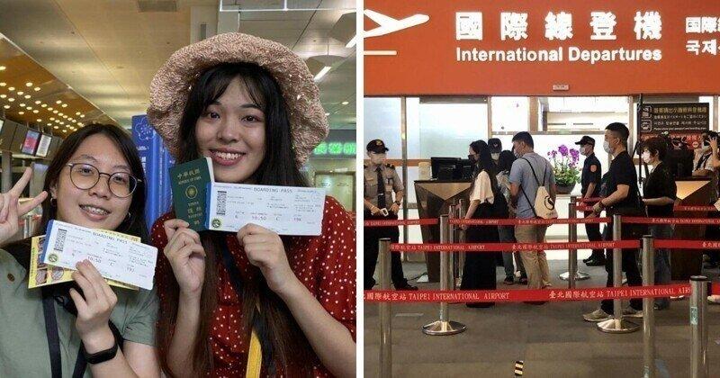 Полёты понарошку: на Тайване открыли аэропорты для тоскующих по путешествиям