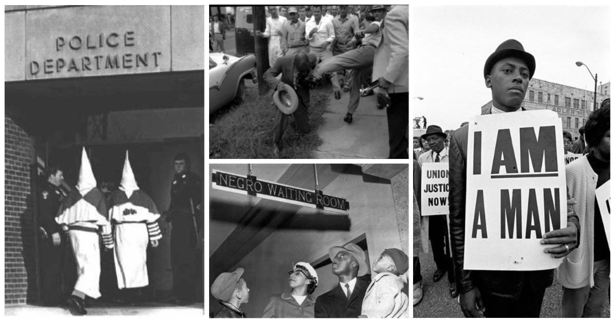 25 шокирующих исторических фотографий, которые объясняют сегодняшние события в США