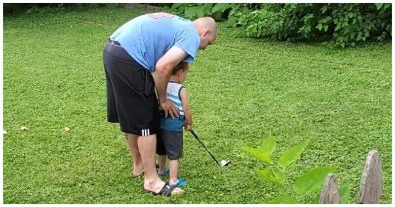 Будущая звезда мирового гольфа