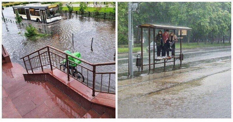 Москва превращается в Венецию
