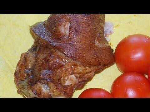 свиная рулька с соевым соусом